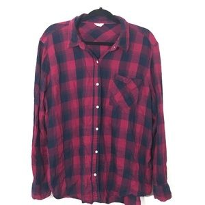 3/$25 Aeropostale Plaid Long Sleeve Shirt Size XL